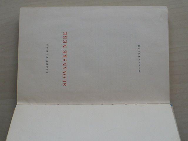 Toman - Slovanské nebe (1948)