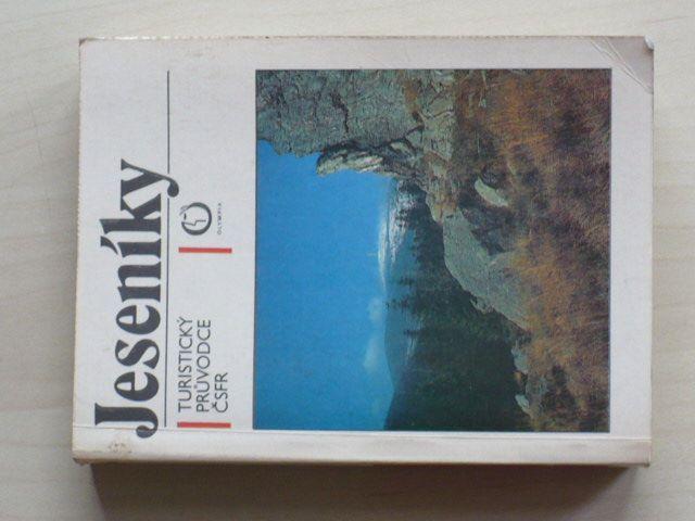 Turistický průvodce ČSFR - Jeseníky (1991)