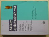 Základy společenských věd - Pro učitele učitelů... 1-4 díl (2004) 1 kniha