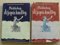 Černušák - Přehledný dějepis hudby II. (1947)