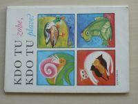 Kdo tu zobe, kdo tu plave? (1983) obrázkové kartičky