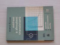 Čermák - Měření a zkoušení tranzistorů (SNTL 1962)