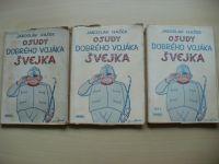 Hašek - Osudy dobrého vojáka Švejka I.-IV. (1951) il. Lada