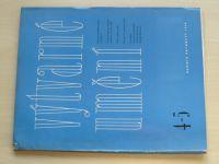 Výtvarné umění 4-5 (1965) ročník XV. (dvojčíslo)