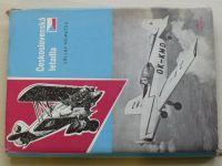 Němeček - Československá letadla (1958) + podpis autora