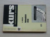 Kurs 92 - Mrázek - Matematické stroje (1964)
