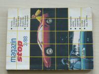 Magazín Stop 2/88 (slovensky) automobily, motocykly, doprava