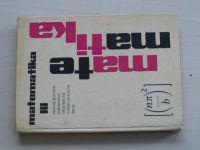 Matematika III - pro III. ročník středních všeobecně vzdělávacích škol (1965)