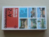 Průvodce na cesty - Československo A - Z (1978)