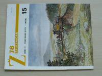 Železničář 15 (1978) ročník XXVIII.