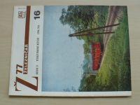 Železničář 16 (1977) ročník XXVII.