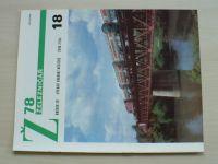 Železničář 18 (1978) ročník XXVIII.