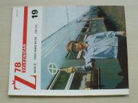 Železničář 19 (1978) ročník XXVIII.
