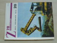 Železničář 20 (1978) ročník XXVIII.