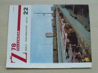 Železničář 22 (1978) ročník XXVIII.