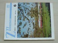 Železničář 6 (1977) ročník XXVII.