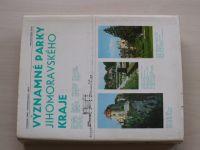 Kříž, Riedl, Sedlák - Významné parky Jihomoravského kraje (1973)