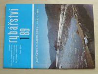 Rybářství 1-12 (1989) chybí číslo 4 (11 čísel)