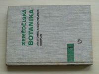 Zemědělská botanika - Anatomie a morfologie rostlin I.-III. (1962-1974) 3 knihy