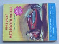 Ing. Kadrmas - Udržování motorových vozidel (1950)