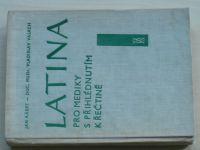 Kábrt, Valach - Latina pro mediky s přihlédnutím k řečtině (1962)
