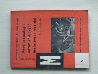 Mareček - Nová technologie oprav kolejových motorových vozidel (Nadas 1963)