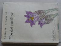 Novák - Horské rostliny (1963) il. Svolinský