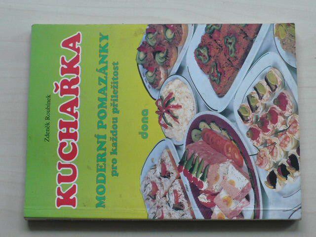 Roubínek - Kuchařka - Moderní pomazánky pro každou příležitost (1995)