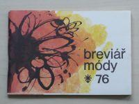 Breviář módy 76 (1976)