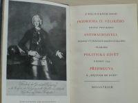 Z politických spisů Fridricha II. Velikého, krále pruského, Antimachiavell, Politická závěť