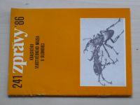 Číslo 241 - Zprávy Krajského vlastivědného muzea v Olomouci (1986)