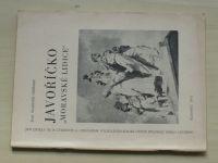 """Hořínek - Javoříčko ,,Moravské Lidice"""" (1971)"""