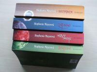 Meyerová - Stmívání, Nový měsíc, Zatmění, Rozbřesk (2008)