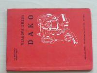 Vlaková brzda DAKO (Nadas 1972)