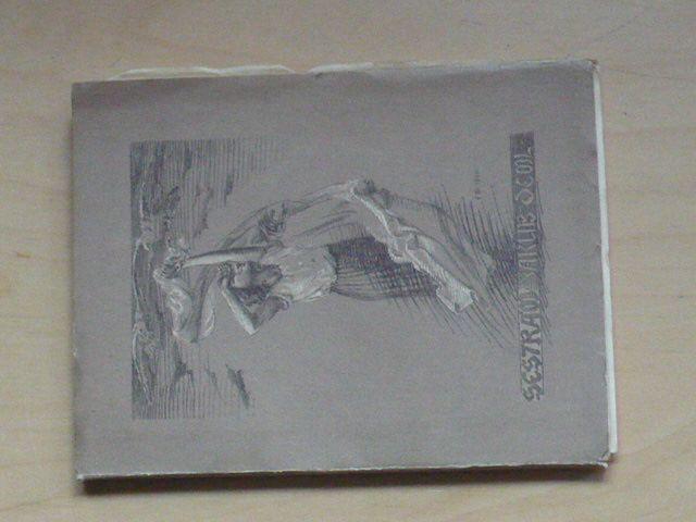 Jakub Deml - Sestrám (Tasov 1924) dřevoryty F. Bílek