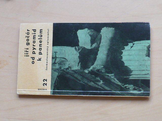 Jiří Gočár - Od pyramid k panelům (1959)