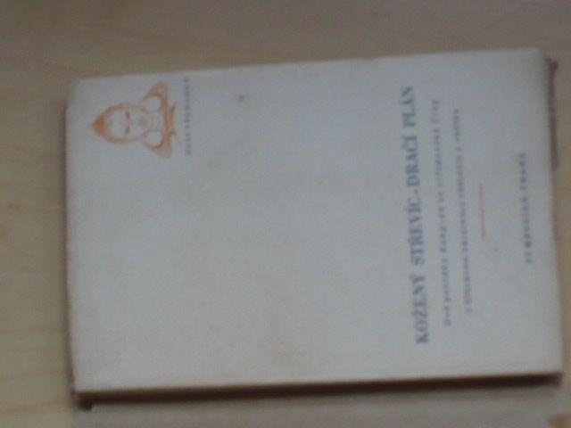 Kožený střevíc, Dračí plán - Symposion Praha 1948