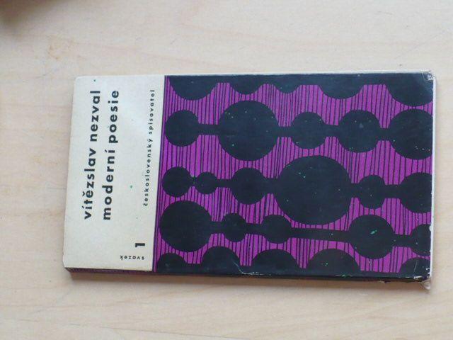 Vitězslav Nezval - Moderní poezie (1958)