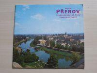 Okres Přerov - Severomoravský kraj - Československo (1980)