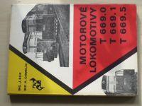 Bek, Chmelík - Motorové lokomotivy T 669.0, T 669.1 a T 669.5 (1973)