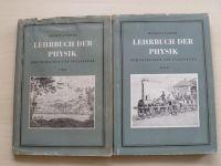 Lindner - Lehrbuch der Physik für Techniker und Ingenieure I.II.III. (1954) německy