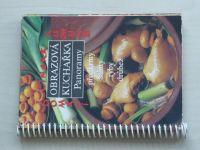 Obrazová kuchařka Panoramy - Domácí čínská kuchyně (Předkrmy, saláty, ryby, drůbež) (1988)