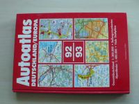 Autoatlas Deutschland/Europa 92/93