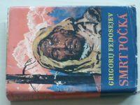 Fedosejev - Smrt počká (1965) obálka Burian