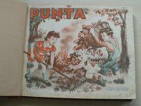 Puňta - sešit 93-107 (1940-41) 15 sešitů