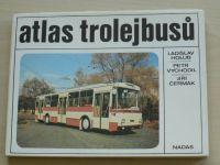 Holub, Vychodil, Čermák - Atlas trolejbusů (Nadas 1986)