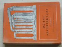 Prokešová - Dějiny architektury (1959) učebnice pro III. a VI. ročník
