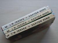 Troska - Kapitán Nemo 1. - 3. (1969, 1970) 3 knihy