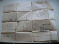 Hildebrand - Dampfmaschine (Plán na parní stroj, německy)