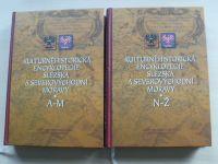 Kulturněhistorická encyklopedie Slezska a severovýchodní Moravy (2005) kompetní, 2 knihy